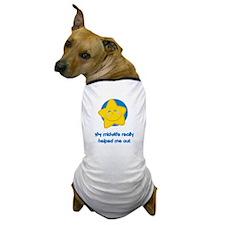 Midwives Help Blue Star Dog T-Shirt