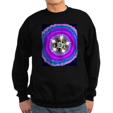 Jeweled Flame Sweatshirt (dark)
