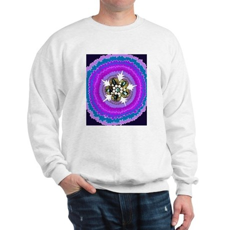 Jeweled Flame Sweatshirt