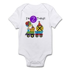 Birthday Train 2nd Infant Bodysuit