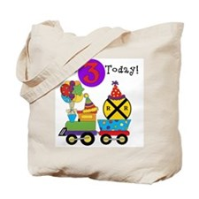 Birthday Train 3rd Tote Bag