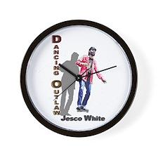 Dancing Outlaw Wall Clock