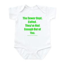 Sewer Dept. Infant Bodysuit