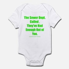 Sewer Dept. Infant Bodysuit