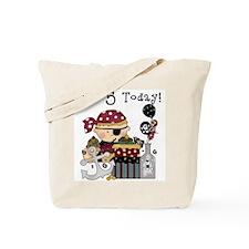 5th Birthday Pirate Tote Bag