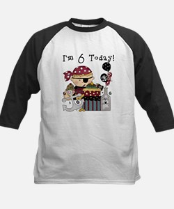 6th Birthday Pirate Tee