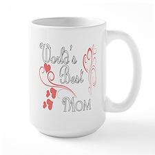 Best Mom (Pink Hearts) Mug