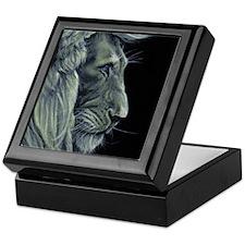 Golden Lion Keepsake Box