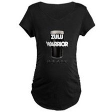 Zulu Warrior Trans Big Maternity T-Shirt