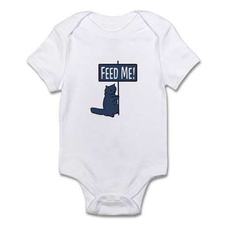 Feed me ! Cat Infant Bodysuit