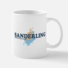 Sanderling NC - Seashells Design Mug