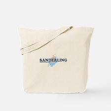 Sanderling NC - Seashells Design Tote Bag