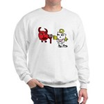 Devil and Angel Sweatshirt