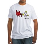Devil and Angel Fitted T-Shirt