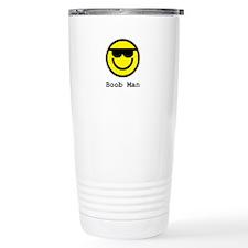 Boob Man Sunglasses Travel Mug
