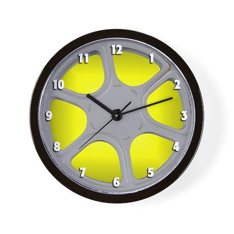 Film Reel... Wall Clock