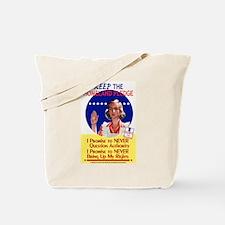 Homeland Pledge Tote Bag