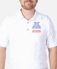 Government Competition Golf Shirt