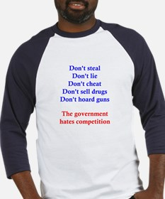 Government Competition Baseball Jersey