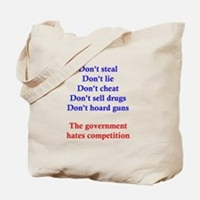 Government Competition Tote Bag