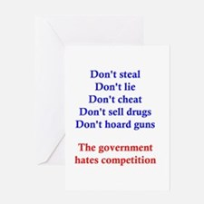 Government Competition Greeting Card