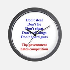 Government Competition Wall Clock