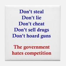 Government Competition Tile Coaster