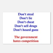 Government Competition Postcards (Package of 8)