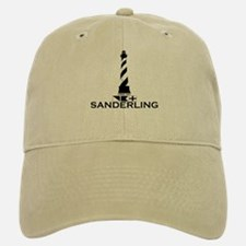 Sanderling NC - Lighthouse Design Baseball Baseball Cap