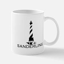 Sanderling NC - Lighthouse Design Mug