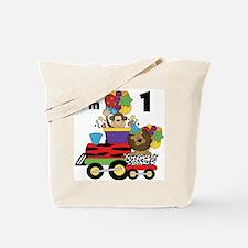1st Jungle Train Tote Bag