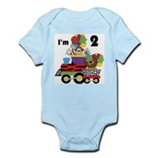 2nd Jungle Train Infant Bodysuit