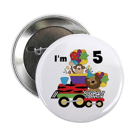 """5th Jungle Train 2.25"""" Button"""