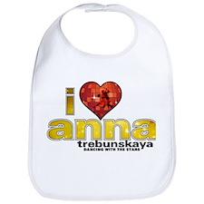 I Heart Anna Trebunskaya Bib