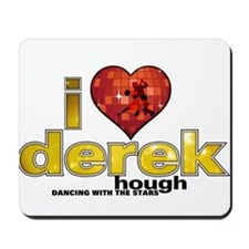 I Heart Derek Hough Mousepad