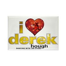 I Heart Derek Hough Rectangle Magnet