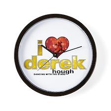 I Heart Derek Hough Wall Clock