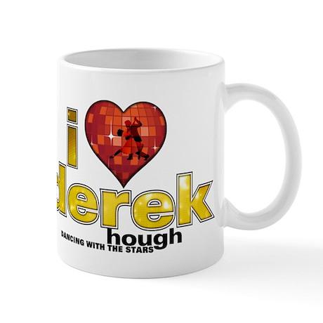 I Heart Derek Hough Mug