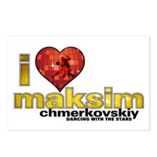 I Heart Maksim Chmerkovskiy Postcards (Package of