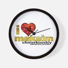 I Heart Maksim Chmerkovskiy Wall Clock