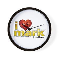 I Heart Mark Ballas Wall Clock