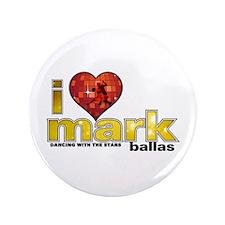 "I Heart Mark Ballas 3.5"" Button (100 pack)"