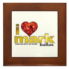 I Heart Mark Ballas Framed Tile