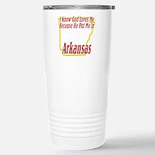 I Know God Loves Me Stainless Steel Travel Mug