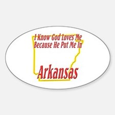 I Know God Loves Me Decal