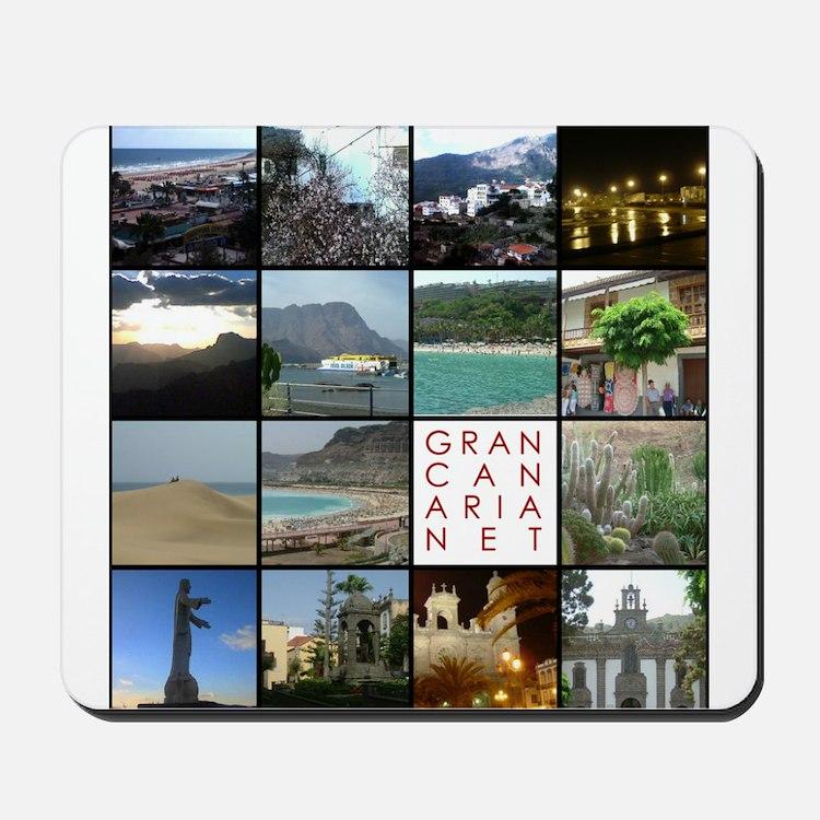 Gran Canaria Net Mousepad