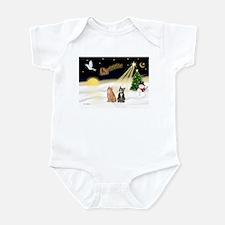 Night Flight-2 Tabbys Infant Bodysuit