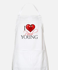 I Heart Paul Young Apron
