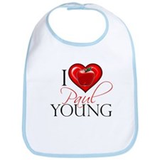 I Heart Paul Young Bib