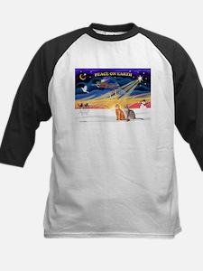 X-Sunrise-2 Abyssinians Kids Baseball Jersey